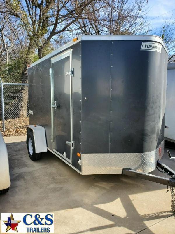 Rental 35 - Haulmark 10'  Enclosed S/A Cargo Trailer