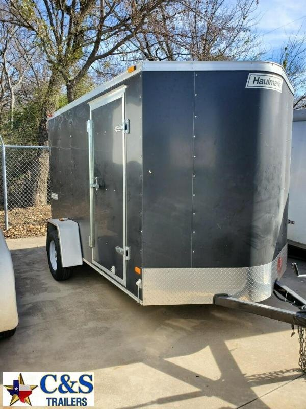Rental 35 - Haulmark 10'  Enclosed S/A Cargo Trailer