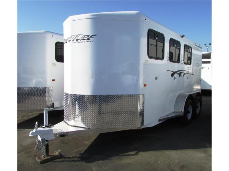 2020 Trails West Manufacturing Adventure II MX w/tack room