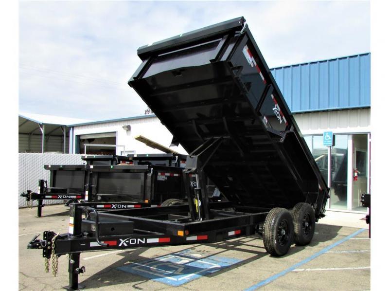"""2021 Delco Trailers BP Dump Trailer 83""""x14'  14,000 lbs"""