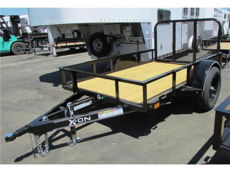 "2019 X-On BP Utility Single Axle Trailer 60""x08' 3K"
