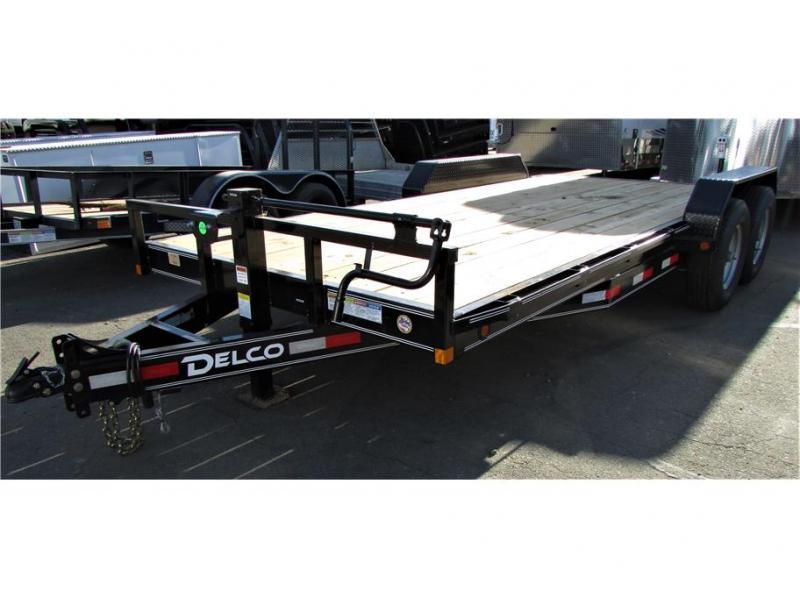 2021 Delco Trailers Equipment Trailer 14,000 lbs