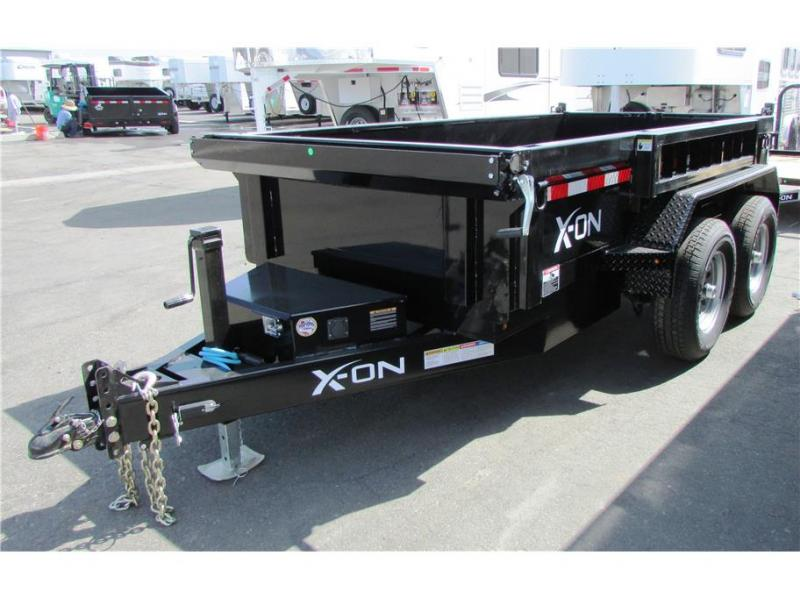 "2020 X-On BP Dump Trailer 60""x10'  7K"