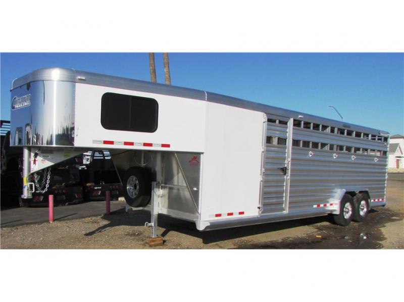 2019 Cimarron Trailers Lonestar Stock 26'x7'6""