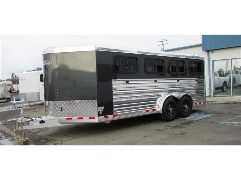 2019 Cimarron Trailers Showstar 21' BP Low Profile Stock