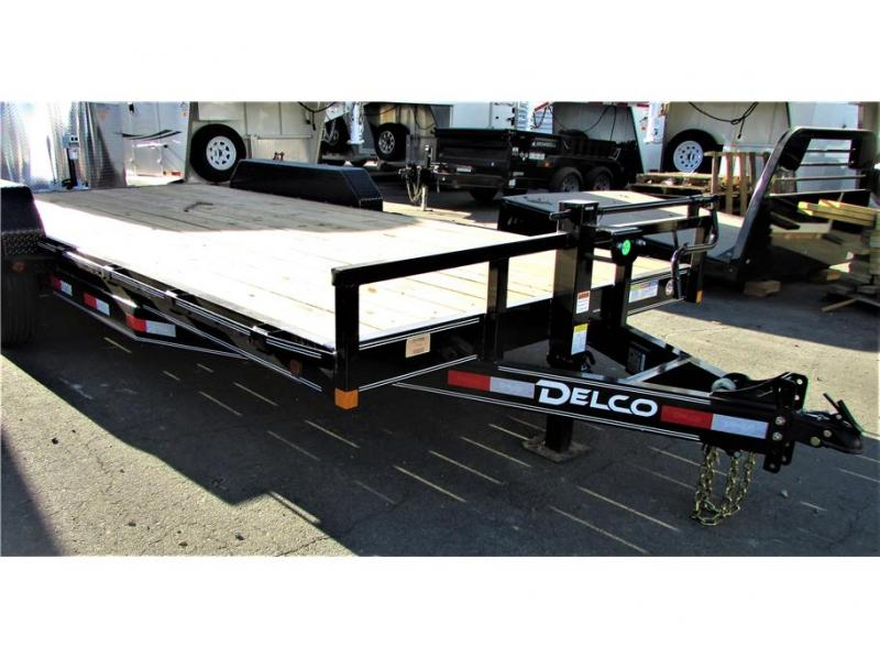 2021 Delco Trailers Equipment Trailer 14,000 lbs