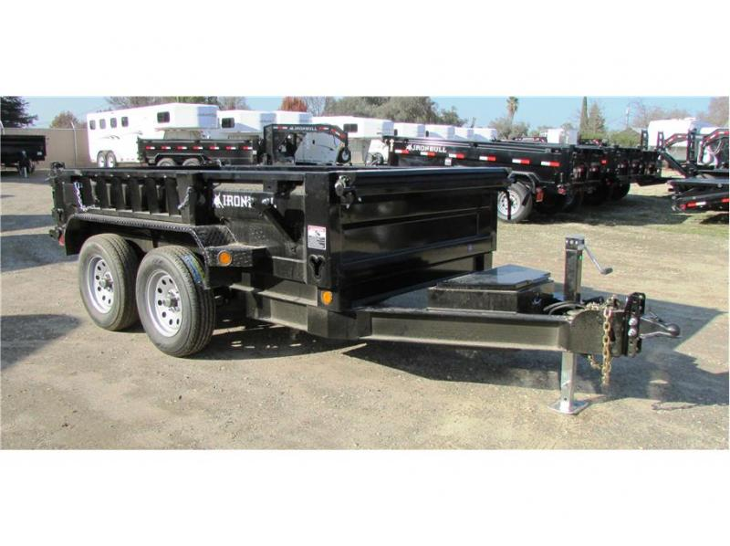 "2019 Norstar BP Dump Trailer IRON BULL 60""X10'  2-3,500lb Axles"