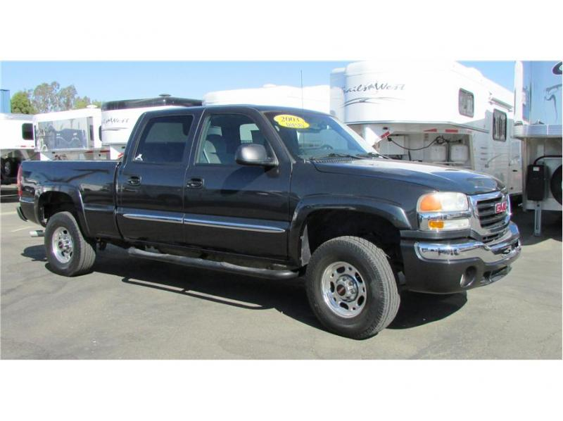 2003 GMC Sierra 2500 HD Crew Cab Pickup 4D 6 1/2 ft