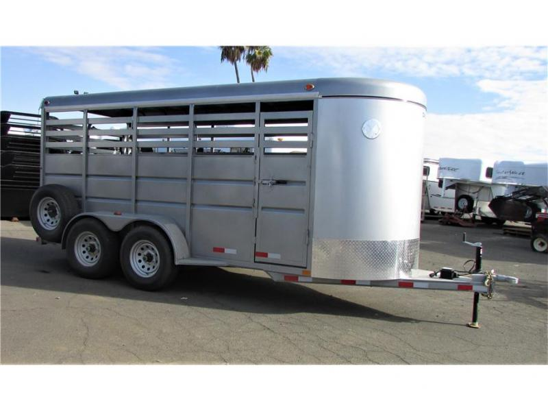 2021 Delco Trailers Stock BP 6' x 16'