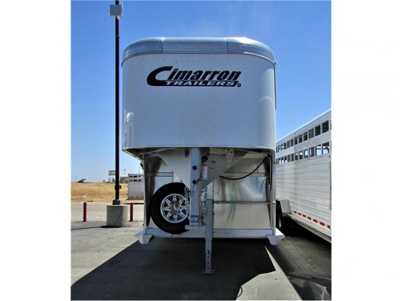 "2021 Cimarron Trailers Lonestar Stock GN 20'x6'10"""