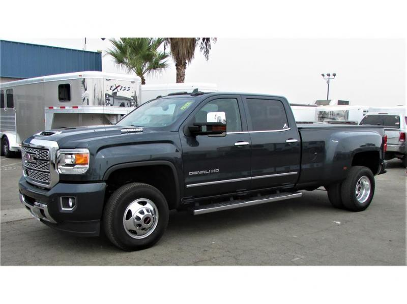 2018 GMC Sierra 3500 HD Crew Cab Denali 4wd 8 ft bed dually rear wheel