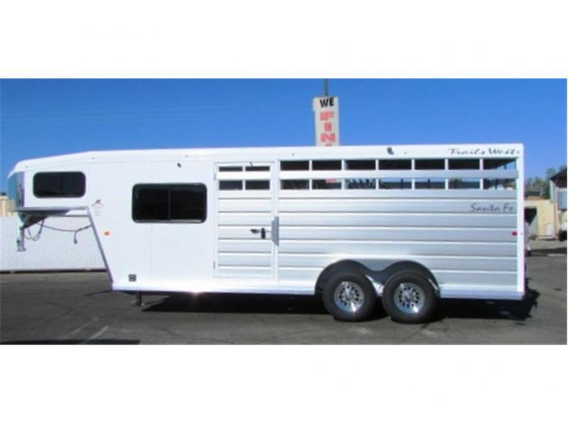 2019 Trails West Santa Fe 17ft. GN 2x7 Slant Tack