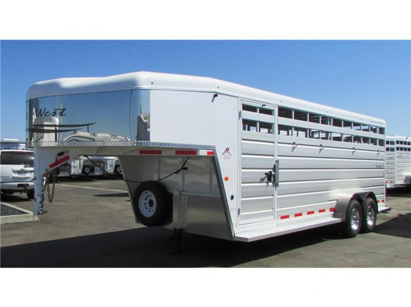 2017 Trails West Manufacturing Santa Fe GN 21' open stock