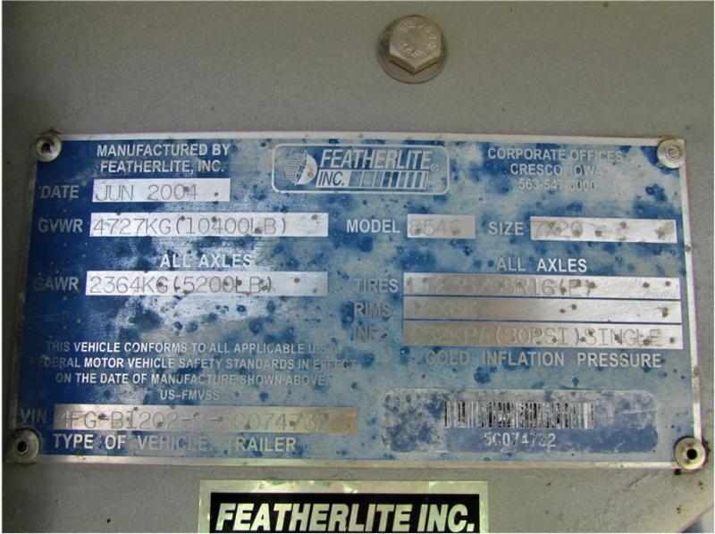 2005 Featherlite Weekender 3H GN