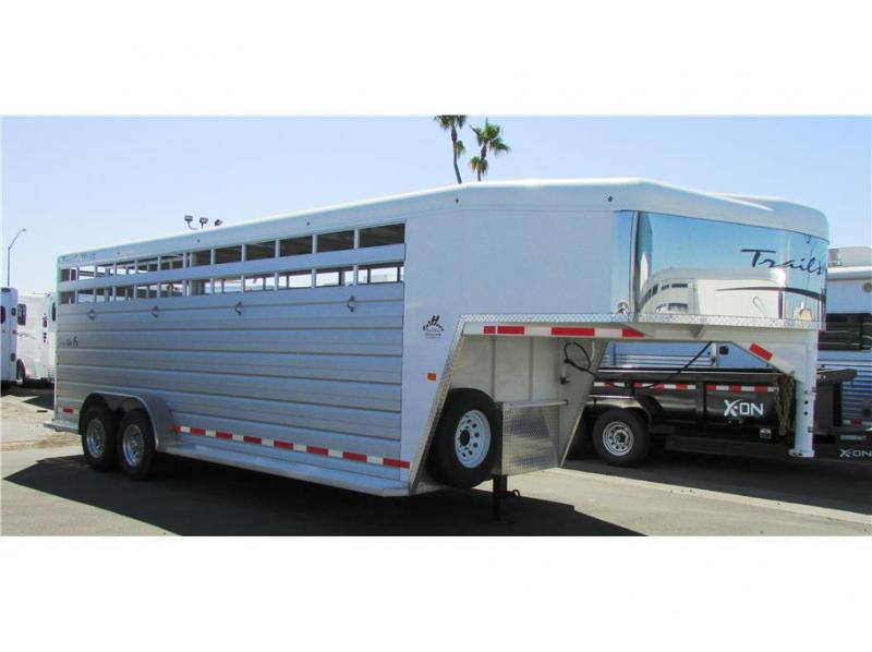 2020 Trails West Manufacturing Santa Fe GN 21' Open Stock
