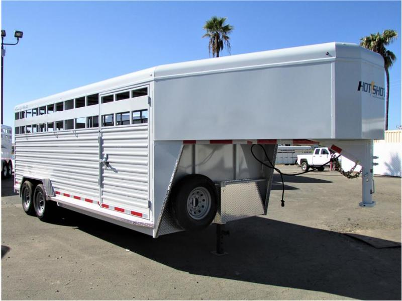 2021 Trails West Hotshot Open Stock 20' X 7'6