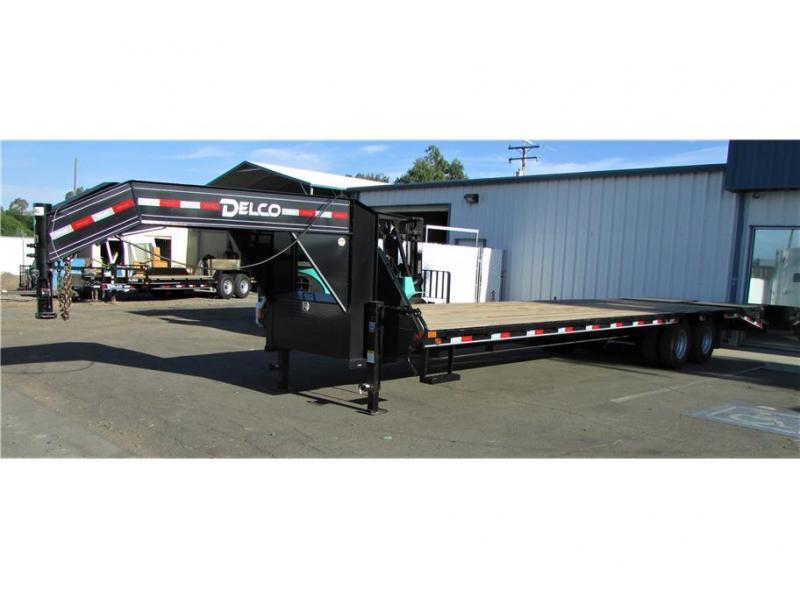 2021 Delco Trailers Equipment Trailer 20,000 lbs