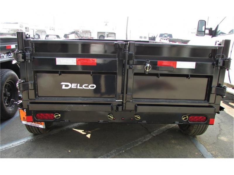 """2021 Delco Trailers Dump Trailer 60""""x10' 7K"""