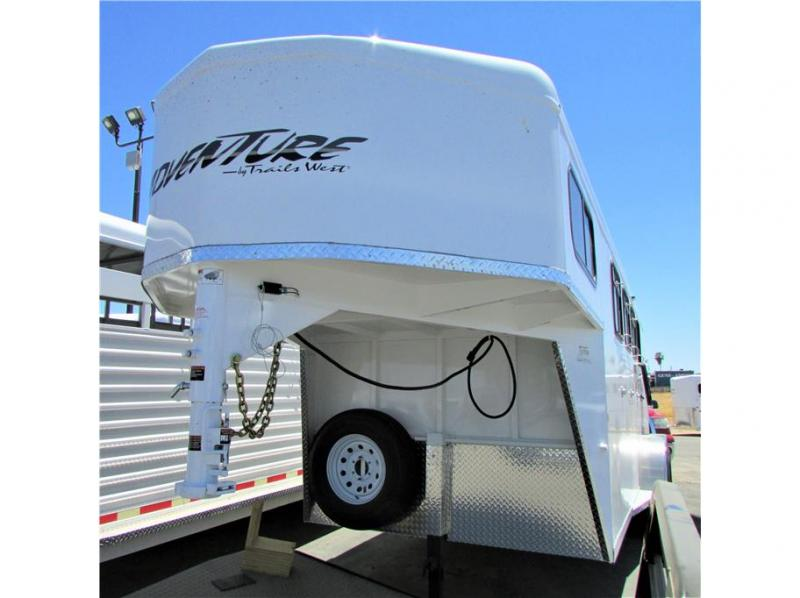 2022 Trails West Adventure MX w/tack room