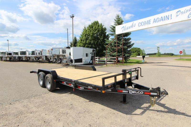 "2021 Delco Trailers 14K Tilt 83""x20' Car / Racing Trailer"