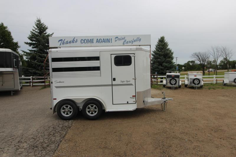 2021 Sundowner Trailers Super Sport 2HR BP Horse Trailer