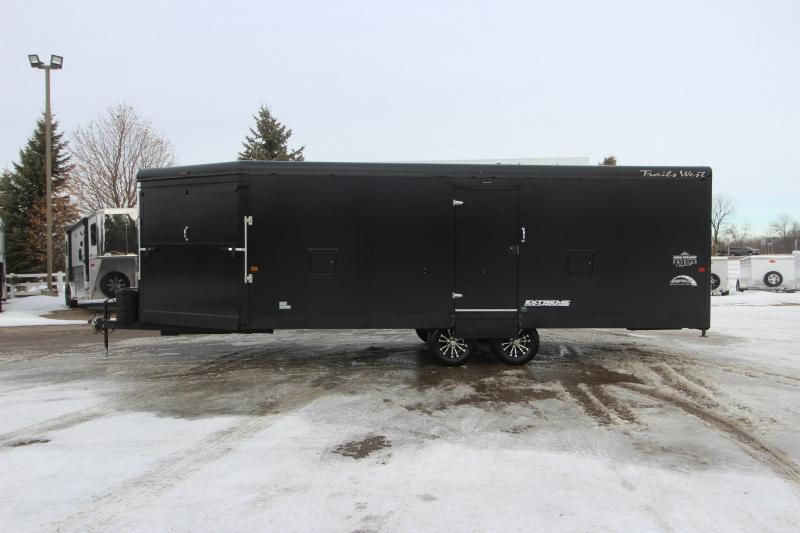 2021 Trails West Manufacturing 28' RPM BP Snowmobile Trailer