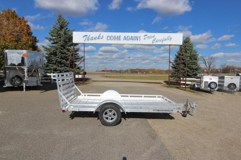 2021 Featherlite 1693 12' Flatbed Trailer