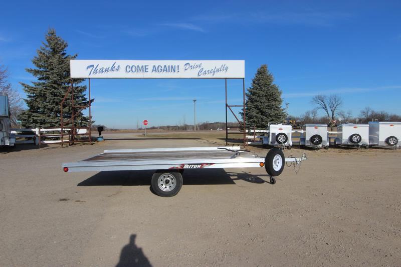 2015 Triton XT12VR-101 QP 12' Snowmobile Trailer