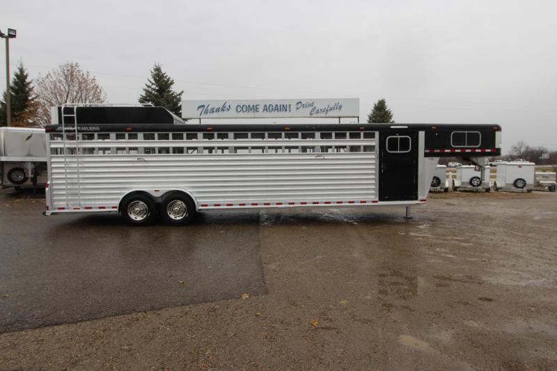 2011 Elite Trailers 30' Stock Combo GN Livestock Trailer