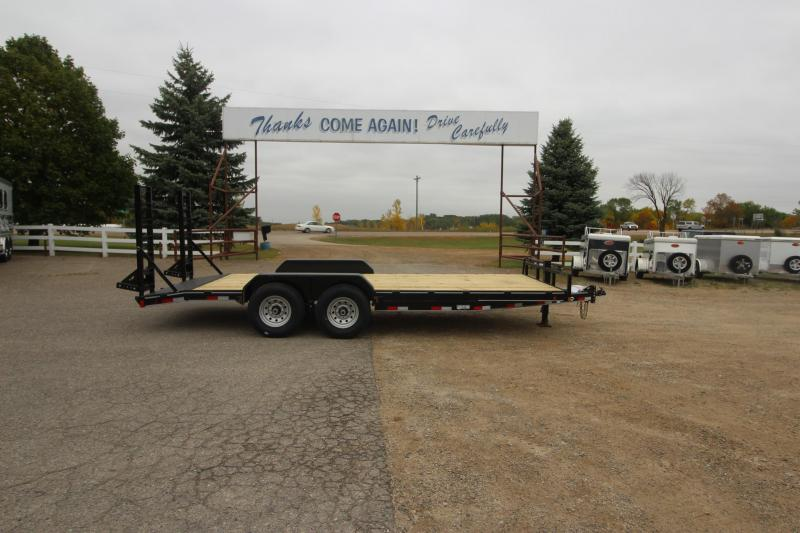2021 Delco Trailers 20' Car / Racing Trailer