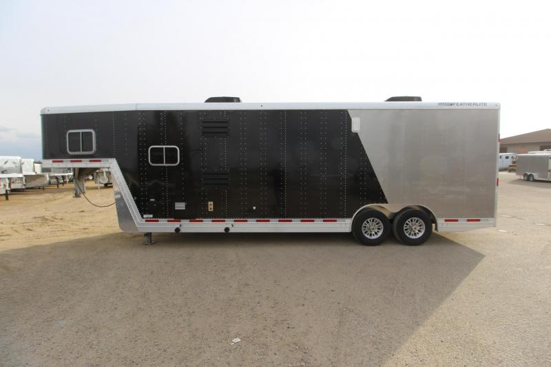 2018 Featherlite 24' Open Toy Hauler Car / Racing Trailer