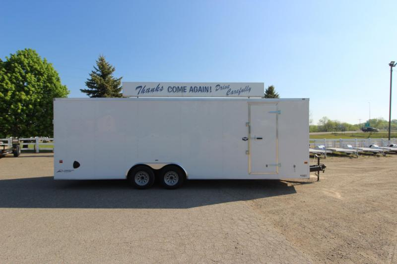 2022 American Hauler 8.5x24 Car / Racing Trailer