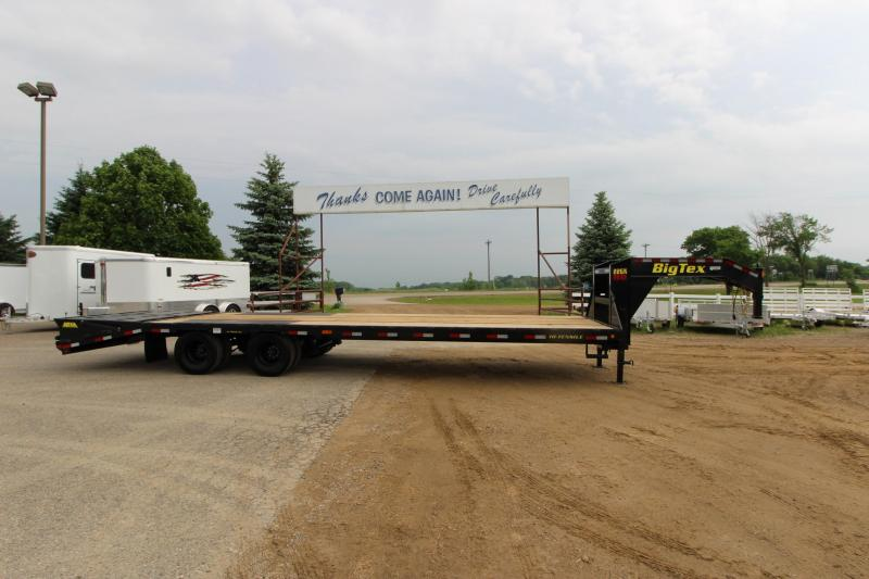 2018 Big Tex Trailers 22GN 25 5' Equipment Trailer