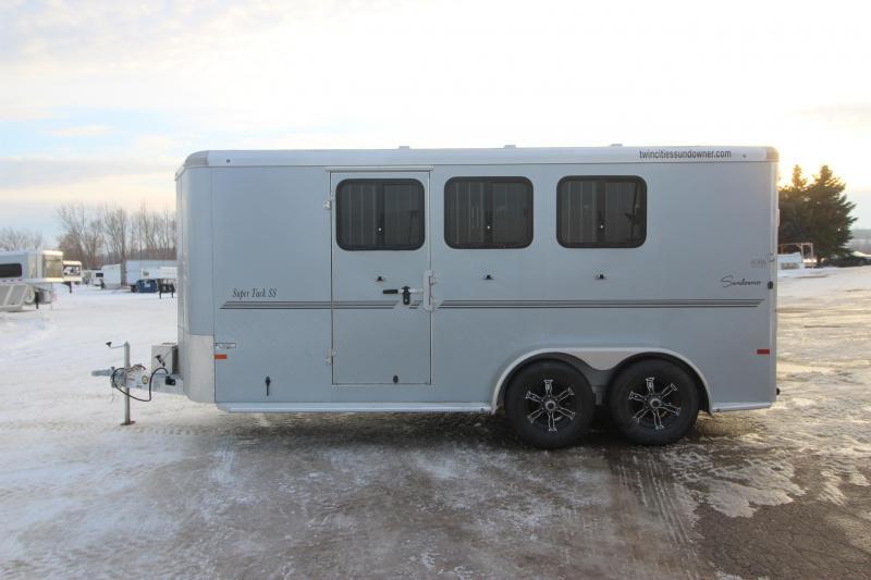 2021 Sundowner Trailers 3HR Super Tack BP Horse Trailer