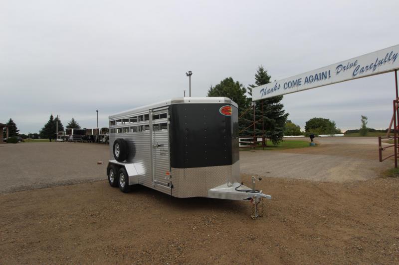 2021 Sundowner Trailers Stockman 16' BP Livestock Trailer