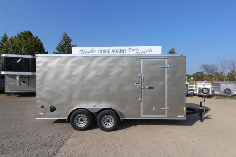 2021 American Hauler Arrow 7x16 Enclosed Cargo Trailer