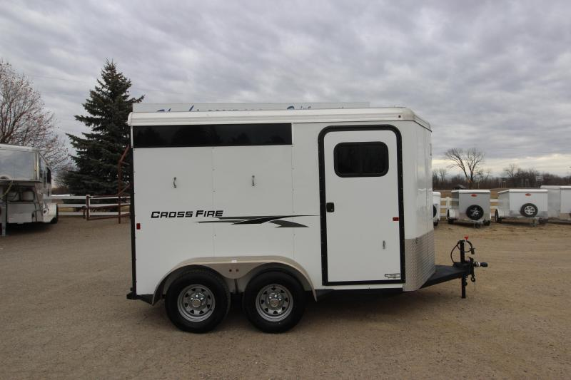 2017 Logan Coach 2HR BP Horse Trailer