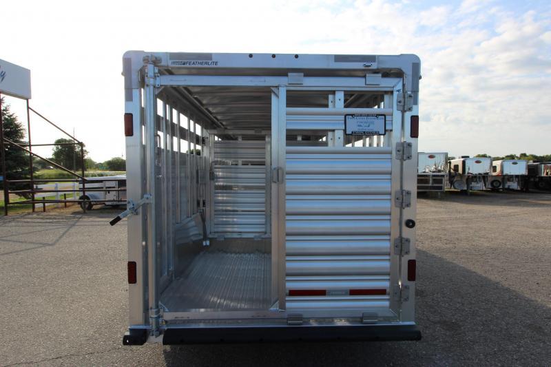 2021 Featherlite 8127 7x24 Livestock Trailer