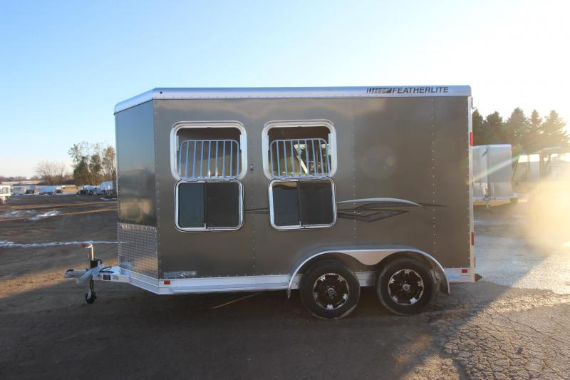 2021 Featherlite 9409 2HR BP Horse Trailer