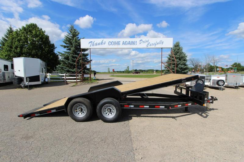 "2021 Delco Trailers 83"" x 20' Full Tilt Car / Racing Trailer"