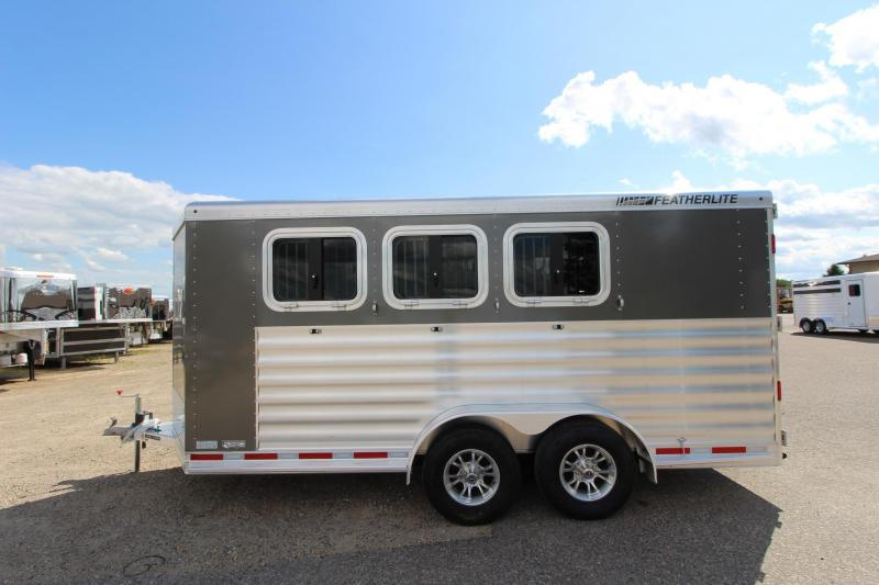 2021 Featherlite 7441 3HR BP Horse Trailer