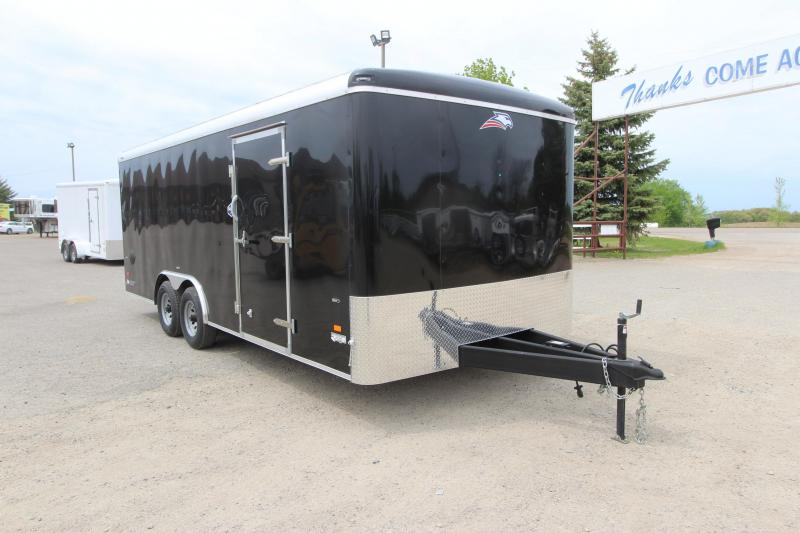 2020 American Hauler Falcon 8.5x20 Car / Racing Trailer