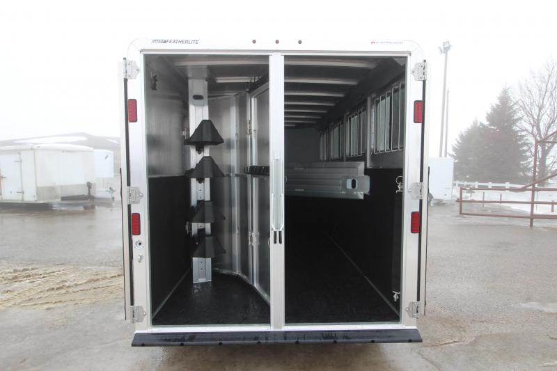 2019 Featherlite 8541 4HR GN Horse Trailer