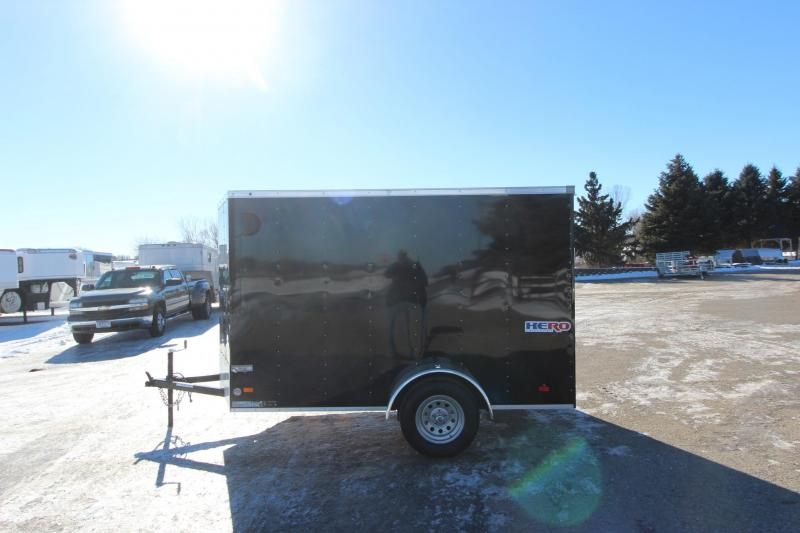 2021 Bravo Trailers 6x10 Hero Enclosed Cargo Trailer