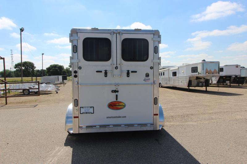 2022 Sundowner Trailers Charter 2HR BP Horse Trailer