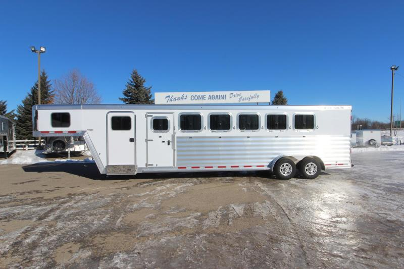 2021 Featherlite 7541 6HR GN Horse Trailer