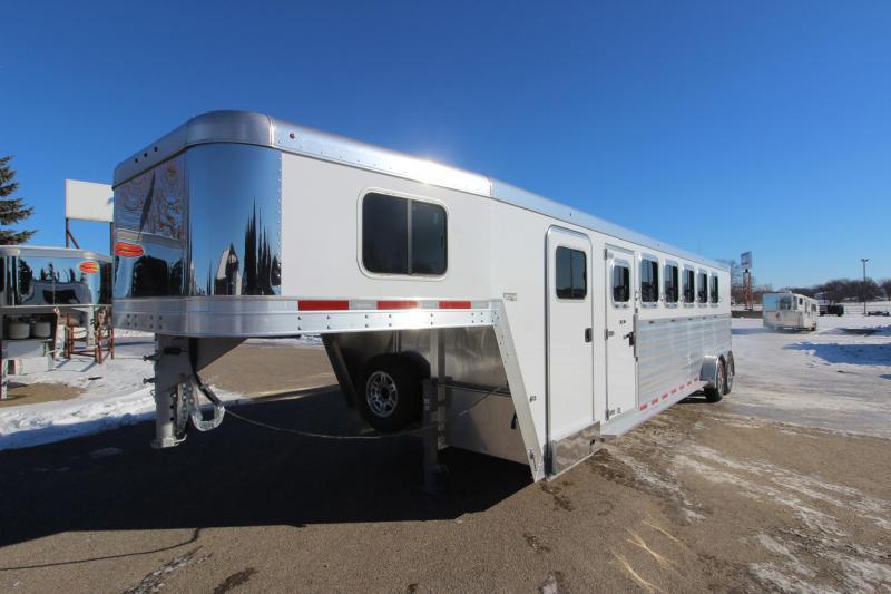2021 Featherlite 7541 6HR GN Horse Trailer