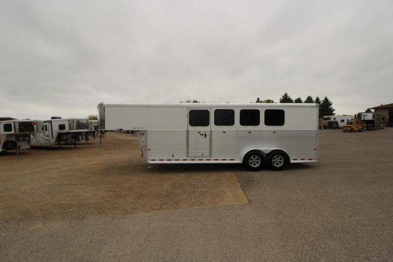 2018 Sundowner Trailers 4HR Trainer Trailer Horse Trailer