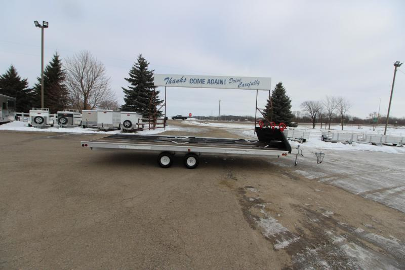 2004 Newman 20 + 2 BP Snowmobile Trailer