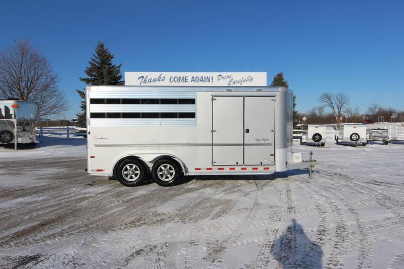 2020 Sundowner Trailers 3HR SuperTack BP Horse Trailer